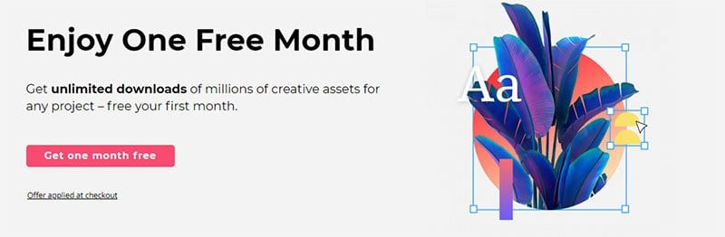 Envato Elements One Month Free