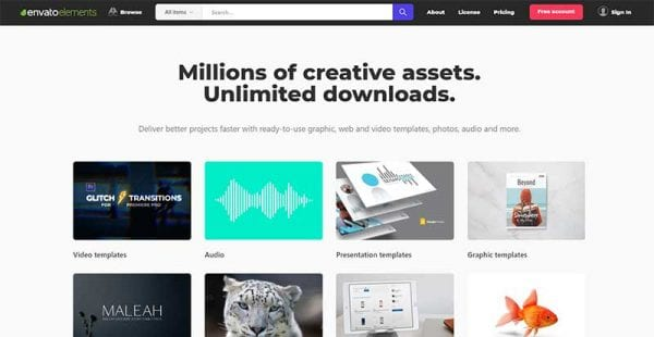 Envato Elements Discount Offer Get One Month Free