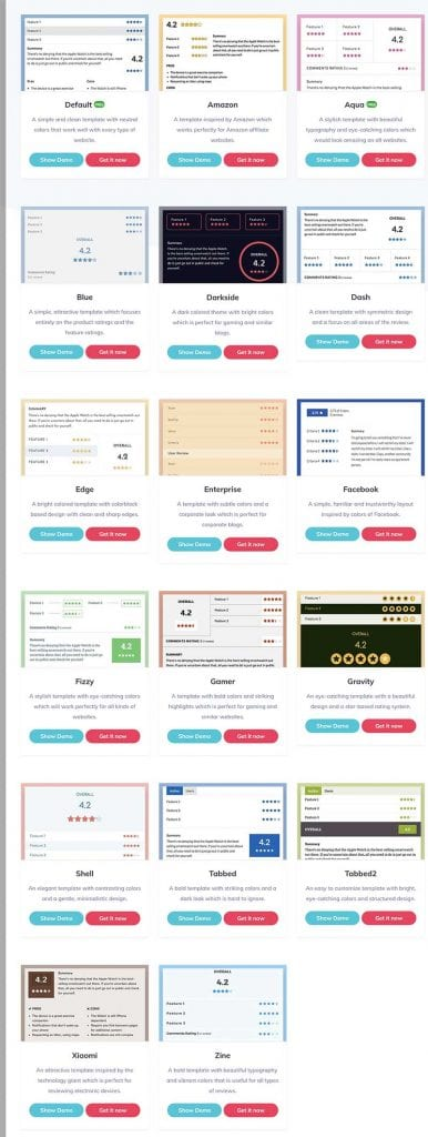 WP-Review-Pro-Design-Templates