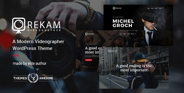 Rekam wordpress theme