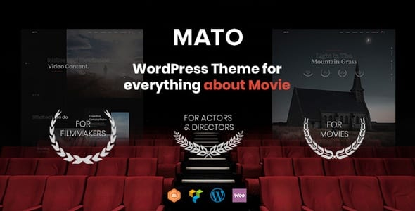 Mato wordpress theme