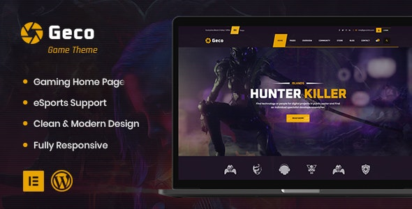 WordPress Gaming Themes