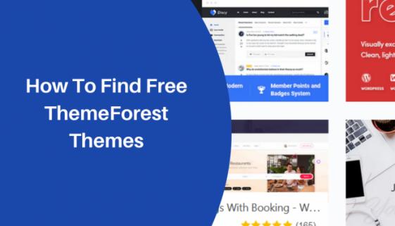 Free ThemeForest Themes