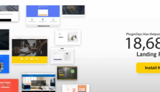 PluginOps Landing Page Builder Review