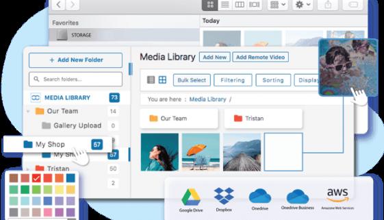 wp media folder review
